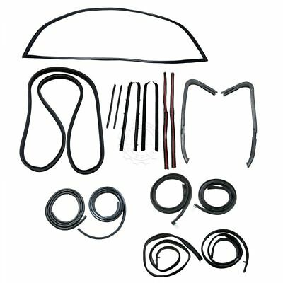 Door Window Sweep Weatherstrip Seals Kit Set For Gmc Chevy 1500