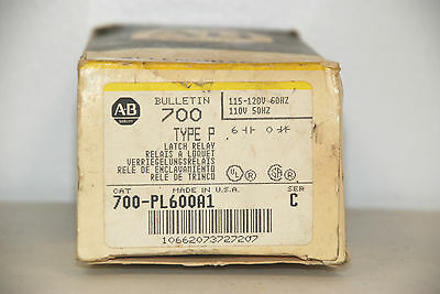 Allen Bradley 700-PL600A1 Latch Relay    NEW