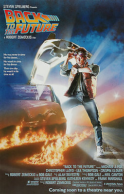 """""""BACK TO THE FUTURE"""" Michael J Fox Modern Classic Movie Poster A1A2A3A4Sizes"""