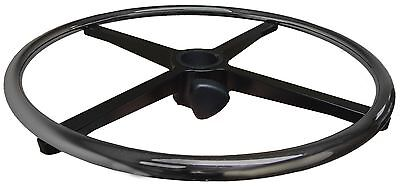 "20""  Chrome Foot Ring / Rest for Stool or Office Chair - Adjustable - S4165-3"