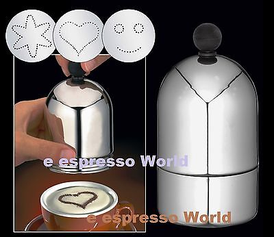 Cilio Coffee Decorating Dredger Cocoa duster ,cappuccino late art barista tool
