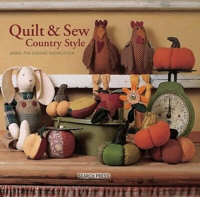 Quilt & Sew Country Style-Anne-Pia Godske Rasmussen