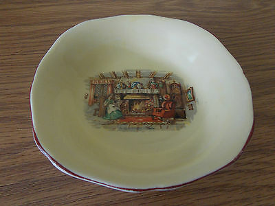Vintage Antique Collectable H & K Tunstall An Englishman's Fireside Bowl