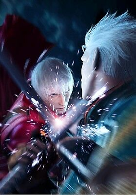 Poster Devil May Cry 2 3 4 5 Dante Capcom Ps3 Nero Dante's Awakening Anime #1