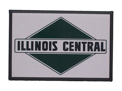 Illinois Central Railway Railroad Magnet #58-1230