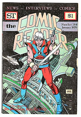 THE COMIC READER # 164  (January 1979) ~Chris Claremont Interview/Asterix~