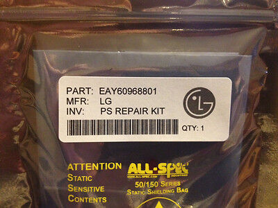 LG Power Repair Kit 50PK950 50PK540 50PK250 EAY60968801 [repairs clicking noise]