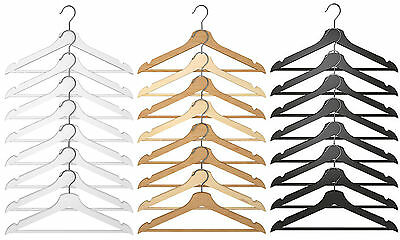 IKEA Bumerang Wooden Adult Clothes Hangers - Wood Trouser, Coat, Suit Hanger
