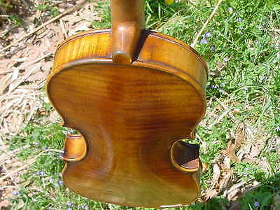 Antique German Violin Late 19Th  C
