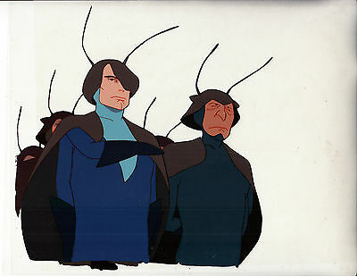 The Twilight of the Cockroaches 2 Cels+2 Pencils'87 Anime/Live-Action-H Yoshida