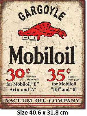 Mobil gas Pegasus Round Tin Sign 610 Made in USA MOBIL Huge Selection In Store