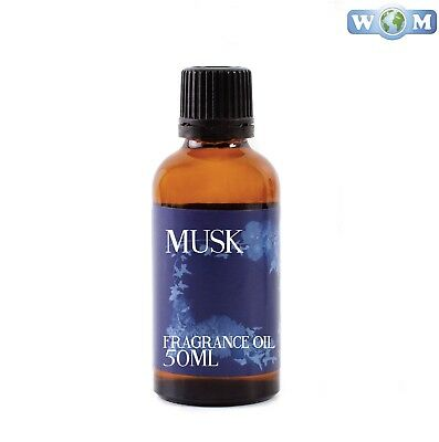 Musk 50ml Fragrance Oil for Soap, Bath Bombs (FO50MUSK)