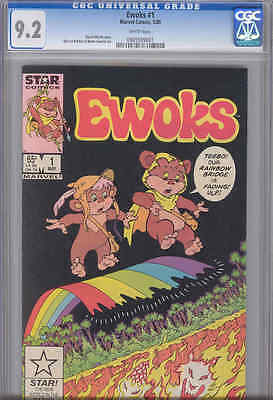 Ewoks #1  CGC 9.2 1985 Star Comic: Great Grade for this hard to find Comic
