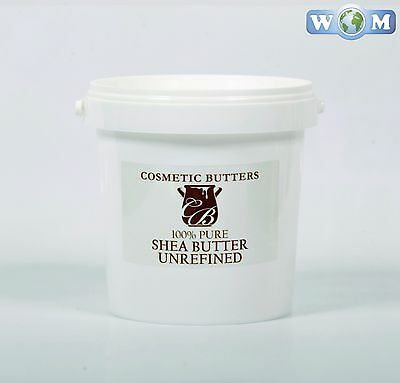 Shea Butter Unrefined 1Kg (BUTT1KSHEAUNRE)