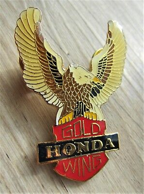 HONDA Pin / Pins - GOLDWING Logo mit Adler - 5 cm groß - Motorcycle - Kult