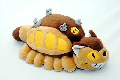 "Japanese Animation 12"" My Neighbor Totoro  soft Cat Bus Plush Doll"