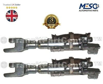 A PAIR OF BRAND NEW O.E. BRAKE SHOES SHOE ADJUSTER FORD TRANSIT CONNECT