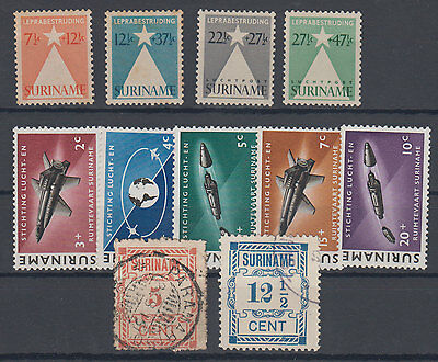 Suriname 3 complete series MNH,USED