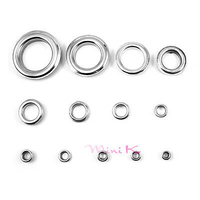 Metallic materials Eyelets buckle Apparel or Scrapbook Stamping Leather Craft
