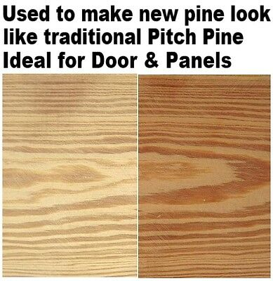 Stain new doors & wood floors to Pitch Pine -  Victorian & Edwardian Dye 50g