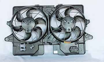 2001-2004 Escape /2001-2006 Tribute Radiator Condenser Cooling Fan Assembly