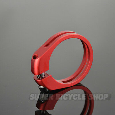 Lightweight Alloy Seat Clamp , 31.8mm , Matte Red