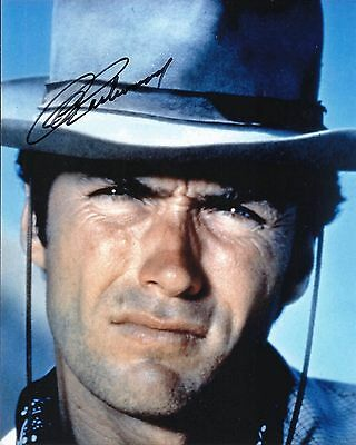 Clint Eastwood signed 8x10 photo Rare @@ Photo Proof @@ Authentic Dirty Harry