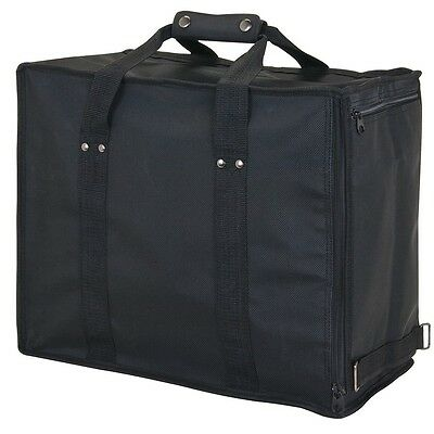 Premium Jewelry Case Carrying Case Travelling Case Black Salesman Travel Case