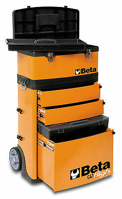 Beta Tools C41H 4100H Two Module Tool Box Case Mobile Mechanics Trolley pit lane