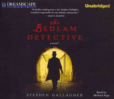 The Bedlam Detective by Stephen Gallagher Compact Disc Book (English)