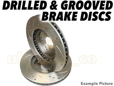 Drilled & Grooved FRONT Brake Discs MERC VITO Bus (W639) 109 CDI 2003-On