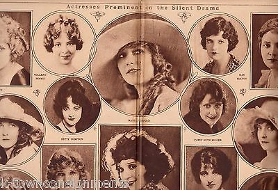 MARY PICKFORD LILLIAN GISH BETTY COMPSON 1920s MOVIE ACTRESSES POSTER PRINT