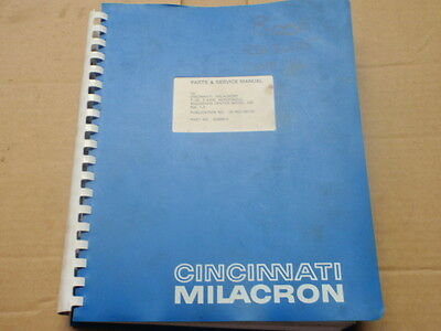 Cincinnati Parts Service Manual_T-30_5 Axis_Model AM Horizontal Machining Center
