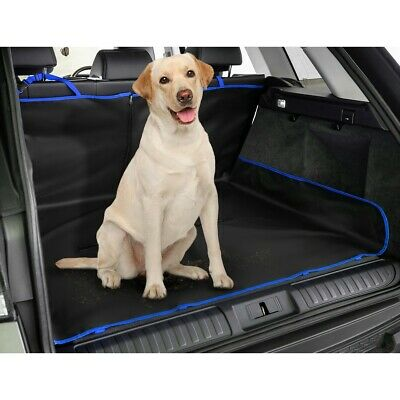 2In1 Waterproof Car Rear Back Seat Cover Pet Dog Animal Protector Boot Mat Liner