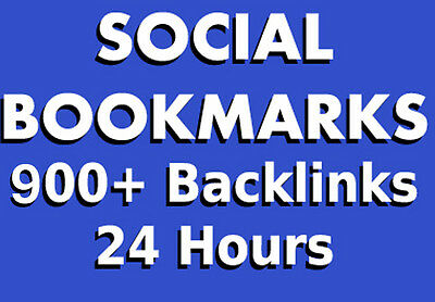900 Social Bookmarks/Backlinks That Will Increase Your Google SEO Ranking