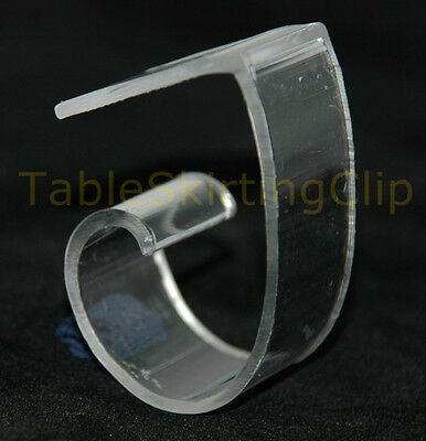 """500 Large Tablecloth Clips 
