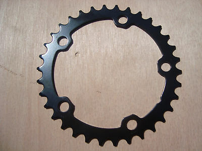 lasco 34 tooth compact 110 bcd cyclo cross road bike steel chain ring
