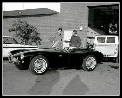 1963 Steve McQueen Carroll Shelby Photo 8X10 -  Buy Any 2 Get 1 FREE