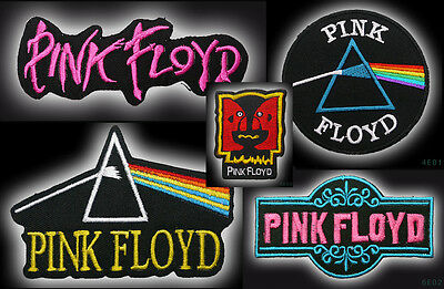 PINK FLOYD - Quality Embroidered Iron-On / Sew-On Patch Collection - NEW