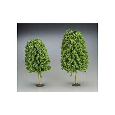 "Bachmann SS 5 1/2-6 1/2"" Deciduous Train Trees (2) O 32206"