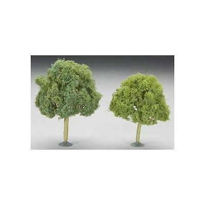 "Bachmann 4.5-5"" Oak Train Trees (2) O 32213"