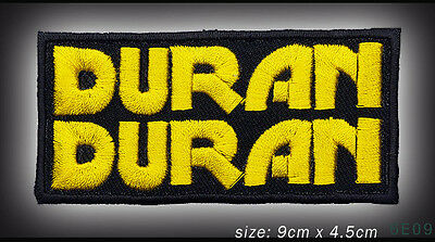 DURAN DURAN - English Rock Band Embroidered Iron-On / Sew-On Patch - NEW - #6E09
