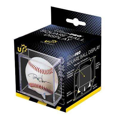 (36) ULTRA PRO Baseball Cubes Display Case Cube UV Protection WHOLESALE LOT