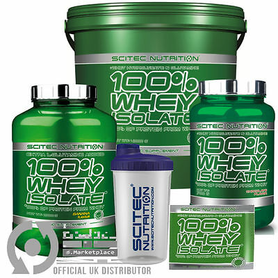Scitec Nutrition 100% Whey Isolate Protein 700g 2000g 4000g