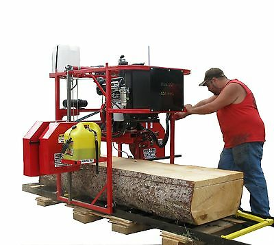 Portable Sawmill bandmill lumber maker sawing Pro Commerical Series