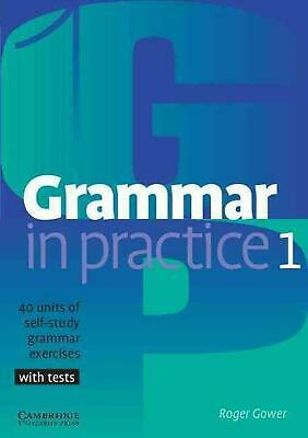 Grammar in Practice 1 by Roger Gower (English) Paperback Book Free Shipping!