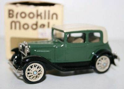 BROOKLIN 1/43 BRK3 - 1930 FORD MODEL A VICTORIA - GREEN - VARIANT A