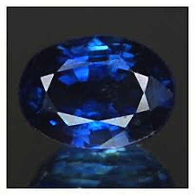 Masterpiece Collection: Oval Genuine (Natural) Bright Blue Sapphire (5x3-7x5mm)