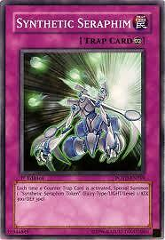 Synthetic Seraphim POTD-EN059 1ST FIRST EDITION carte Yu-Gi-Oh!