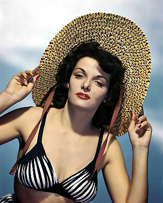 2 JANE RUSSELL 8x10 photo from archival negative
